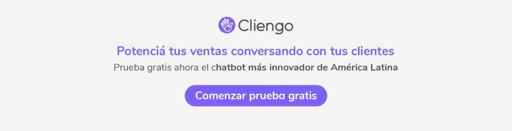 Cliengo es un chatbot que potencia tus ventas