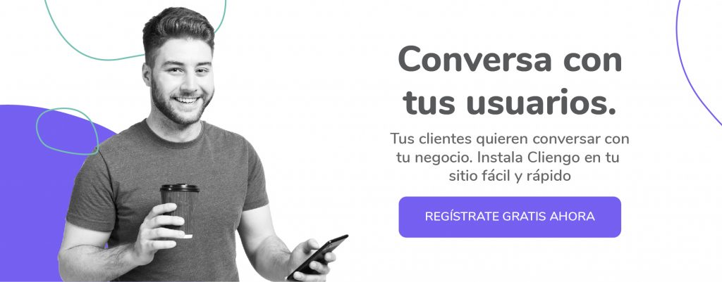 Registrate en Cliengo - Un chatbot en español gratis