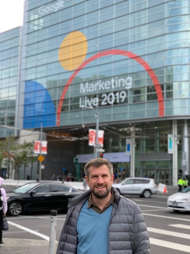 Google Marketing Live CEO Andres Snitcofsky Cliengo