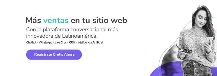 Registrate Gratis en Cliengo Plataforma conversacional con chatbot live chat whatsapp crm inteligencia artificial
