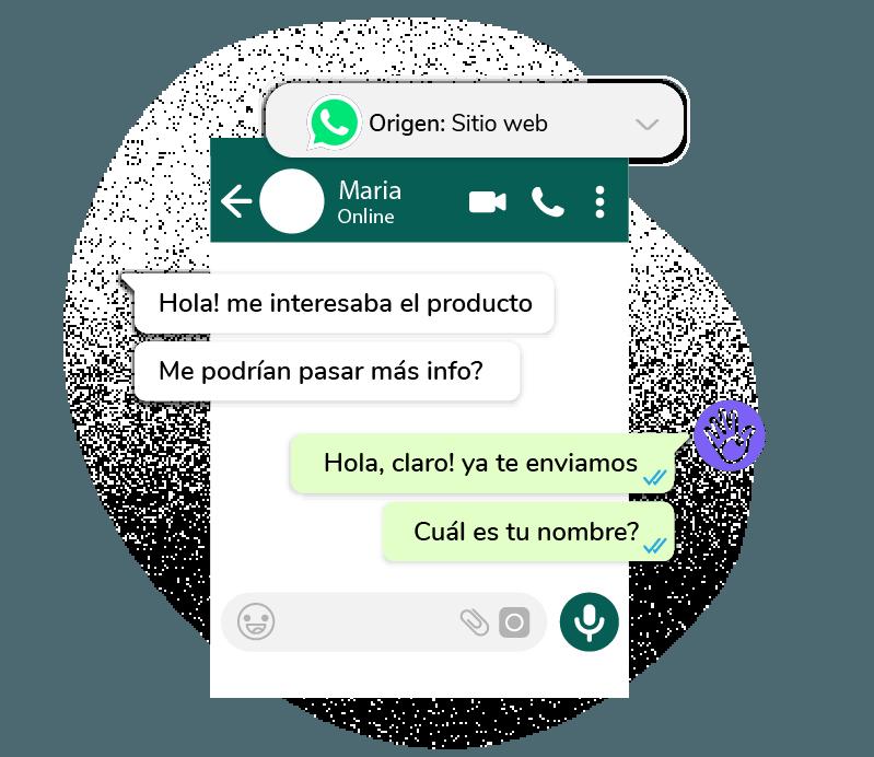Formulario Lead Enriquecido WhatsApp Cliengo