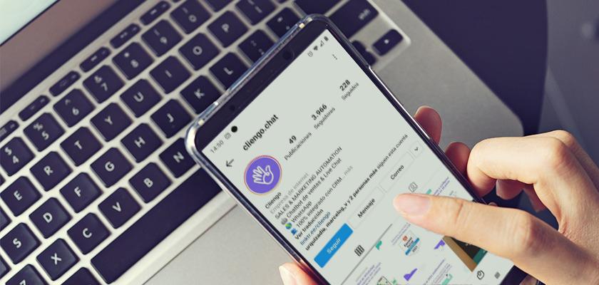 celular-instagram-cliengo