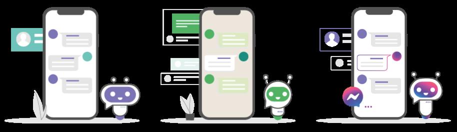 Chatbot web, chatbot para WhatsApp y chatbot para Facebook de Cliengo